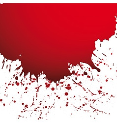 Drop ink splatter vector