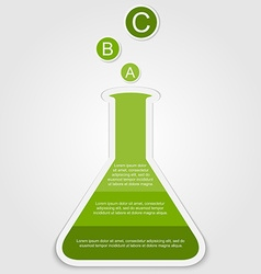 Business infographics scientific style can vector