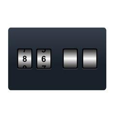 countdown tmer vector image