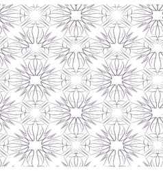 Seamless pattern of stylized women s shoes vector