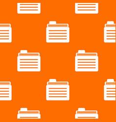 file folder pattern seamless vector image vector image