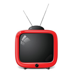 stylish tv vector image vector image