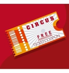 Cinema tickets design vector