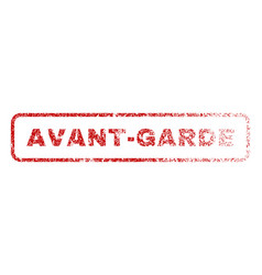 Avant-garde rubber stamp vector