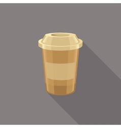 Coffee icons isolated vector image