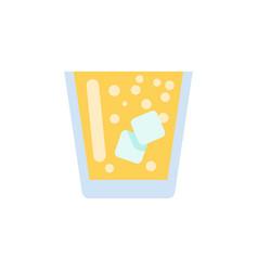 Isolated juice flat icon lemonade element vector