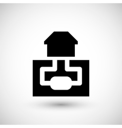 Sewerage system icon vector image vector image