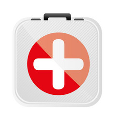 symbol first aid kit icon vector image