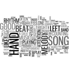 What makes a piece of music a good song text word vector