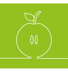 apple fresh design vector image vector image