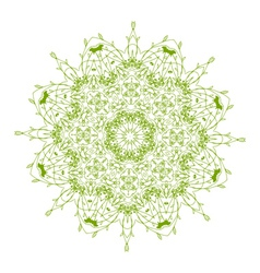 arabesque ornament vector image