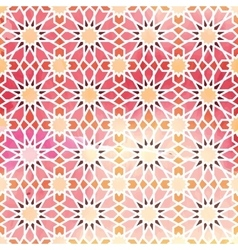 Arabic ornament seamless pattern vector image vector image