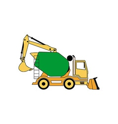 Construction machine 380x400 vector