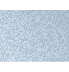 Hand-drawn waves background vector