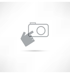 Making photo icon vector
