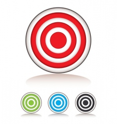 target selection vector image vector image