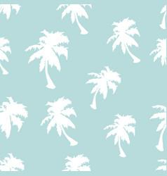 Palm tree seamless pattern vector