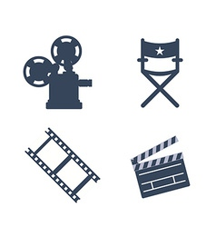 Cinema design vector