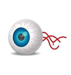 Detached eyeball vector