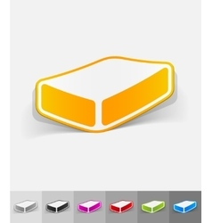 Realistic design element soap vector