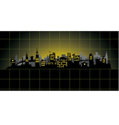 Diagram city vector