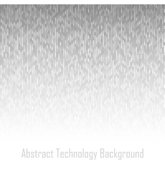 Abstract Gray Technology Lines Background vector image