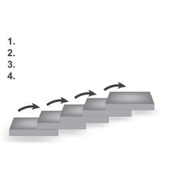 Career ladder vector