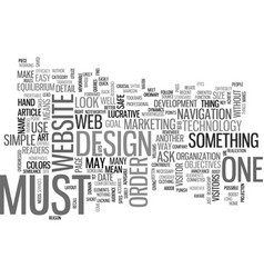 what makes a site lucrative text word cloud vector image