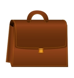 Briefcase portfolio isolated icon vector