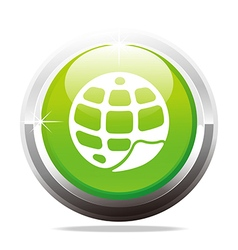 Logo world wide web geology design icon company vector