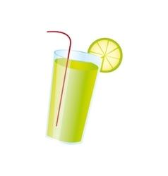 Lemonade beverage icon image vector