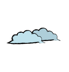 Cloud weather climate ecology environment vector