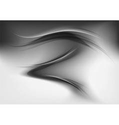 abstract smoke grey vector image vector image