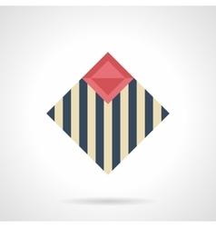 Linoleum for repair flat color icon vector