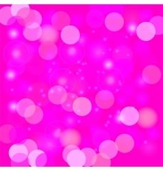 Pink blurred light background vector
