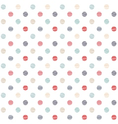 simple seamless pattern vector image vector image