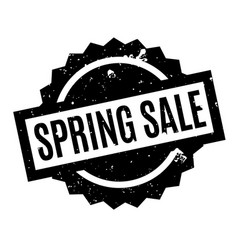Spring sale rubber stamp vector
