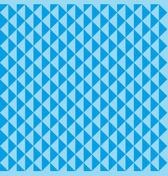 Seamless pattern blue triangles vector