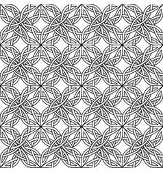 Celtic seamless on white vector