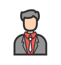 Casino manager vector