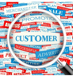Customer vector