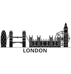 London architecture city skyline travel vector