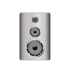Speaker music sound gadget icon graphic vector