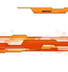 futuristic template vector image