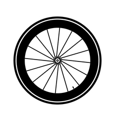 Bicycle wheel vector