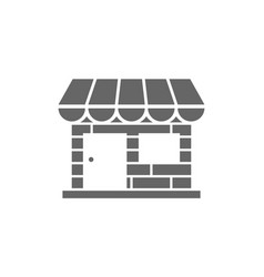 store front icon vector image