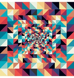 Colorful retro abstract visual effect seamless vector