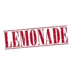 lemonade red grunge vintage stamp isolated on vector image