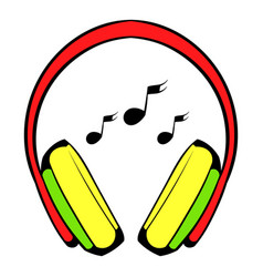 Headphone icon icon cartoon vector