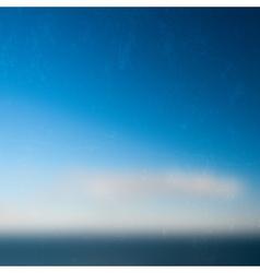 Minimal Seascape Grunge vector image